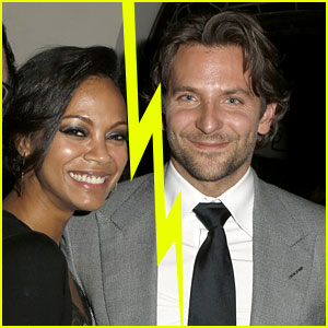 Bradley Cooper & Zoe Saldana Split for Second Time?