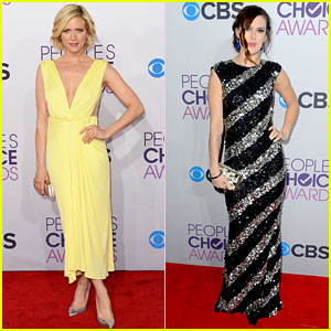 Brittany Snow & Rumer Willis - People's Choice Awards 2013