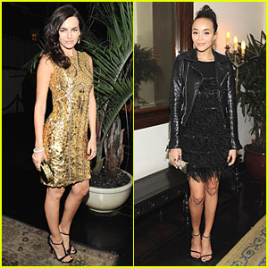 Camilla Belle & Ashley Madekwe: 'W' Magazine's Pre-Golden Globes Party
