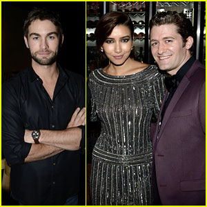 Chace Crawford & Matthew Morrison: New Year's Eve in Sydney!