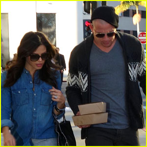 Channing Tatum: Bald Head with Pregnant Jenna Dewan!