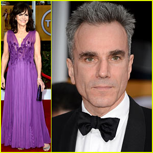 Daniel Day-Lewis Thanks Joaquin Phoenix in SAG Awards Acceptance Speech