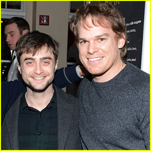 Daniel Radcliffe & Michael C. Hall: 'Kill Your Darlings' Press Dinner