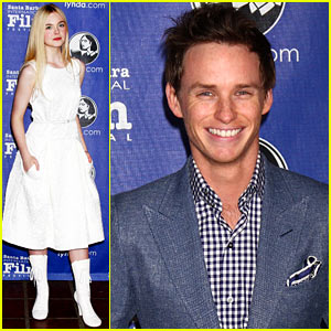 Elle Fanning &#038; Eddie Redmayne: Virtuoso Award Ceremony!