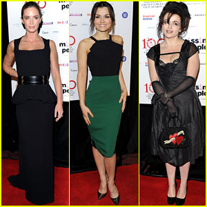 Emily Blunt & Samantha Barks: London Critics Circle Awards!
