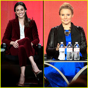 Emmy Rossum & Kristen Bell: Showtime's TCA Tour Panel!