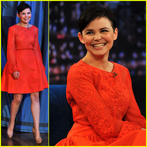 Ginnifer Goodwin: 'Late Night with Jimmy Fallon' Appearance!