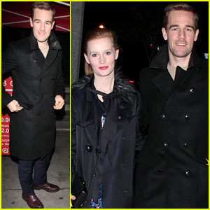 James Van Der Beek & Kimberly Brook: BOA Date Night