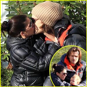 Jared Padalecki & Genevieve Cortese: Park Playtime with Thomas
