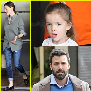 Jennifer Garner & Ben Affleck: Happy 4th Birthday Seraphina!