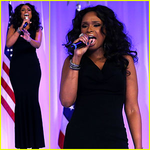 Jennifer Hudson: Inaugural Ball 'Let's Stay Together' Singer!