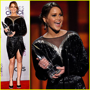 Jennifer Lawrence - People's Choice Awards 2013