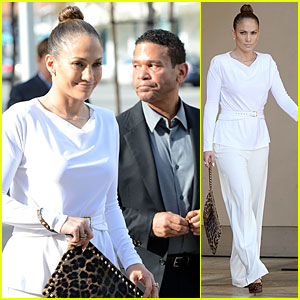 Jennifer Lopez: Bouchon Lunch with Benny Medina!