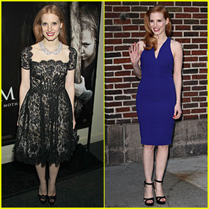 Jessica Chastain: 'Mama' New York Screening!