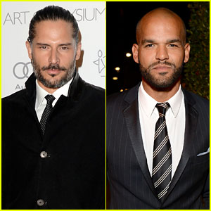Joe Manganiello & Amaury Nolasco - Art of Elysium Gala