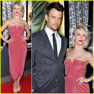 Josh Duhamel & Julianne Hough: 'Safe Haven' Toronto Premiere!