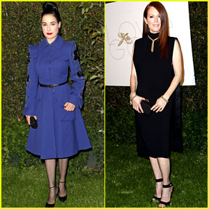 Julianne Moore &#038; Dita Von Teese: LoveGold's Pre-Golden Globes Party!
