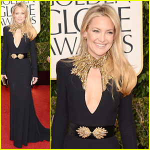 Kate Hudson - Golden Globes 2013 Red Carpet