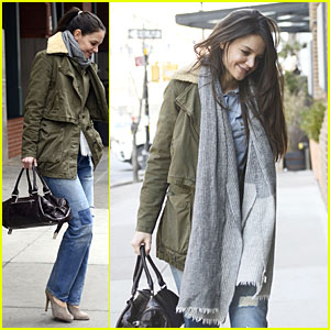 Katie Holmes: New ICM Partners Talent Agency Client!
