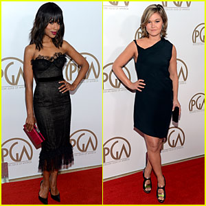 Kerry Washington & Julia Stiles - Producers Guild Awards 2013