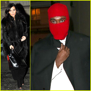 Kim Kardashian Heads to Dinner, Kanye West is Super Cold