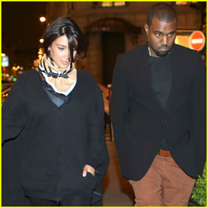 Kim Kardashian & Kanye West: Celine Shoppers!