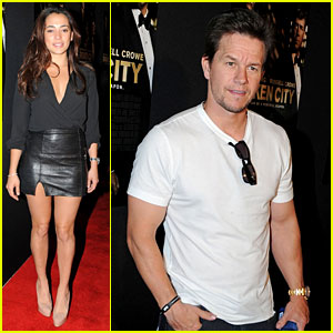 Mark Wahlberg & Natalie Martinez: 'Broken City' Miami Premiere!