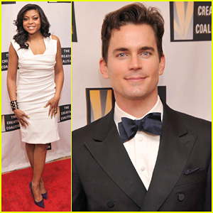 Matt Bomer: Creative Coalition's Inaugural Ball 2013