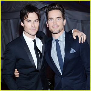 Matt Bomer &#038; Ian Somerhalder - Peoples Choice Awards 2013