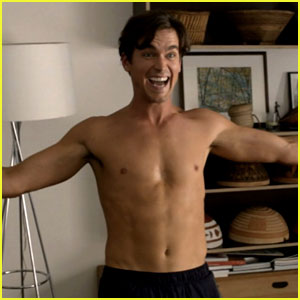 Matt Bomer: Shirtless 'New Normal' Stills & Video!