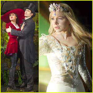 Michelle Williams & James Franco: 'Oz the Great & Powerful' Set Visit Interviews! (Exclusive)