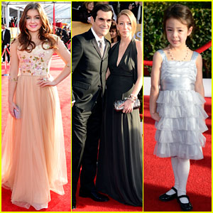 Ariel Winter & Ty Burrell - SAG Awards 2013 Red Carpet