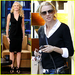 Naomi Watts: 'Tonight Show with Jay Leno' Appearance!