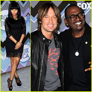 Nicki Minaj & Keith Urban: Fox's TCA All-