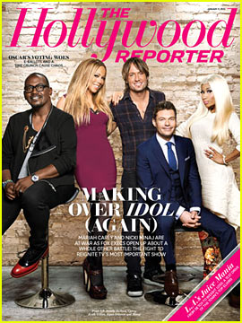 Nicki Minaj &#038; Mariah Carey Cover 'The Hollywood Reporter'