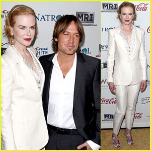 Nicole Kidman & Keith Urban: Gold Meets Golden Host!