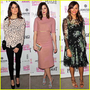 Rashida Jones & Nikki Reed - Independent Spirit Brunch 2013