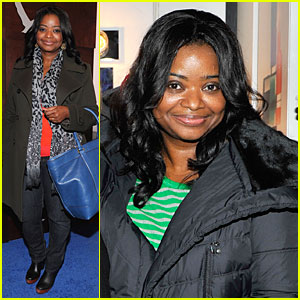 Octavia Spencer: New York Cares Coat Drive Supporter at Sundance!