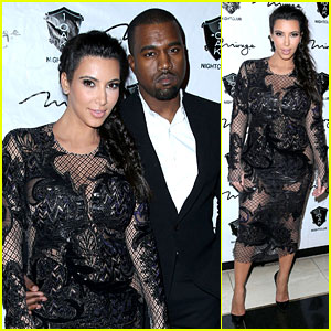 Pregnant Kim Kardashian & Kanye West: New Year's Eve Red Carpet Couple!