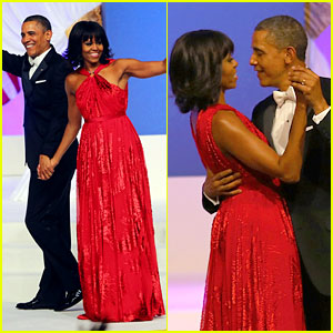 President Barack Obama & Michelle: Inaugural Ball Dance Video!