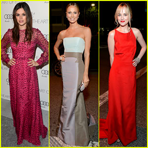 Rachel Bilson & Stacy Keibler - Art of Elysium Heaven Gala