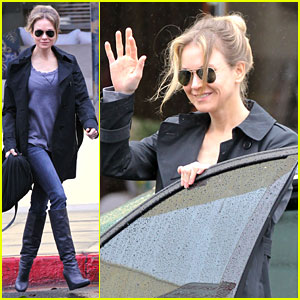 Renee Zellweger: Busy In Brentwood
