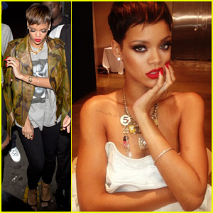 Rihanna: Top Secret Photo Shoot!
