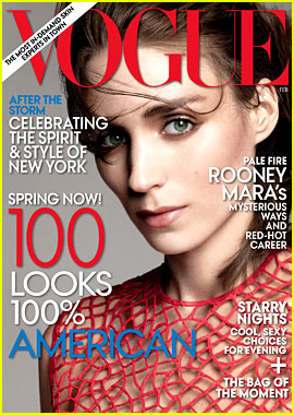 Rooney Mara Covers 'Vogue' February