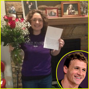 Ryan Lochte Gets Asked To Prom - For Charity!