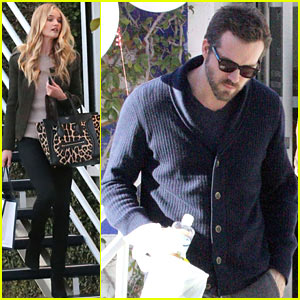 Ryan Reynolds & Rosie Huntington-Whiteley: Separate Fred Segal Stops