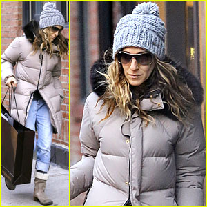 Sarah Jessica Parker: Post-Christmas Shopping