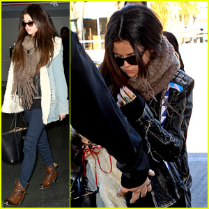 Selena Gomez: LAX to JFK!