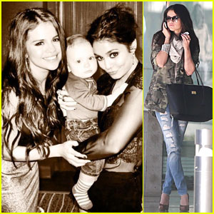 Selena Gomez: Office Day with Vanessa Hudgens!
