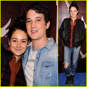 Shailene Woodley: Sundance Film Festival Day Two!